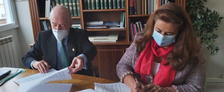 SE HA FIRMADO UN CONVENIO MARCO DE  COLABORACIÓN ENTRE MDE Y ADIPROPE