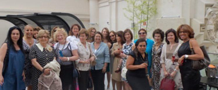 Almuerzo-coloquio Delegada AA.SS. del Ayuntamiento de Madrid