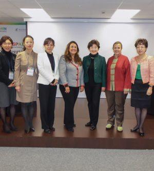 Liderazgo femenino en el Centro Cultural Coreano