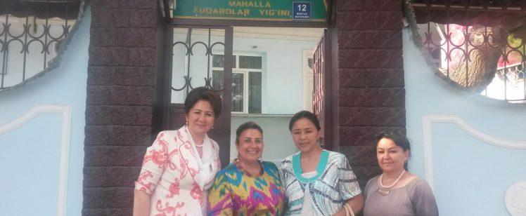 Visita a la Mahalla de Tashknet – Proyecto Uzbekistán