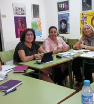 Reunión con la Presidenta del Lobby Europeo de Mujeres (EWL)