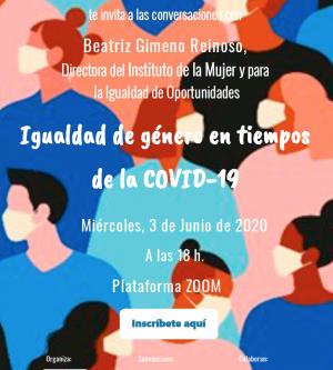 CONVERSACIONES CON BEATRIZ GIMENO REINOSO, DIRECTORA DEL INSTITUTO DE LA MUJER Y PARA LA IGUALDAD DE OPORTUNDIADES