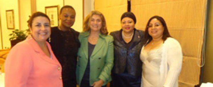 Homenaje de despedida a la Embajadora de Haití