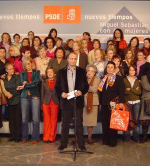 Los concejales socialistas se reúnen con representantes de asociaciones de mujeres