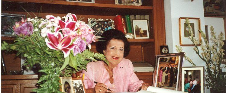 Recuerdo a Fina Calderón