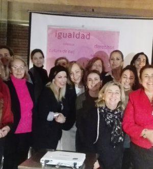 Merienda con Doña Lucía Cerón para dar la bienvenida al Mes de la Mujer
