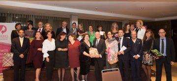 Gala de entrega de los VIII Premios Solidarios a la Igualdad MDE 2018