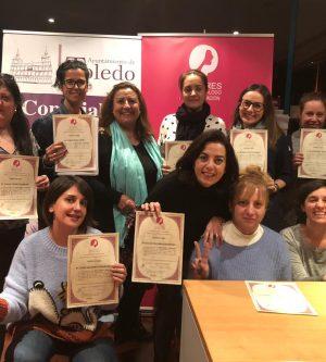 """El curso Mujer y Liderazgo de MDE en Toledo finalizó con el estimulante grito: """"¡Juntas somos más fuertes!"""""""