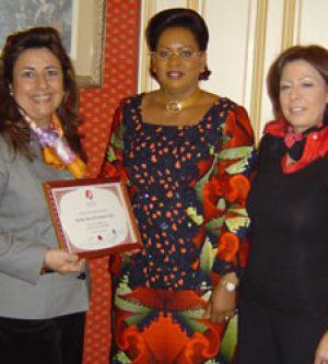 Entrevista con la Primera Dama de la República de Mali